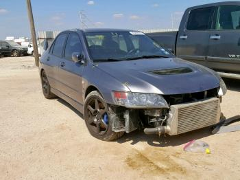Salvage Mitsubishi Lancer Evolution